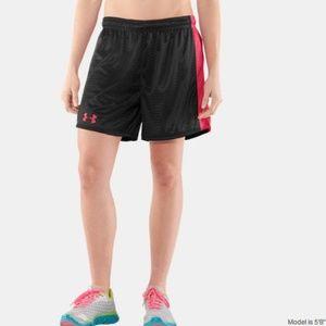 HOT PINK U N D ER A R M O UR shorts